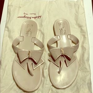 Ferragamo Bow Sandals